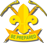 Mountaineer Scout Logo with Shadow